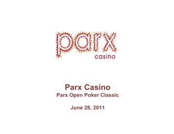 Parx Casino Poker Classic - Pennsylvania Gaming Control Board