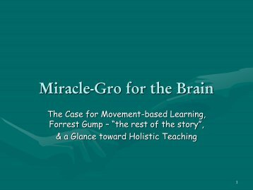 Miracle-Gro for the Brain - Giles County Schools