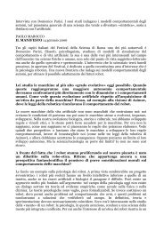 Intervista a Domenico Parisi - laral
