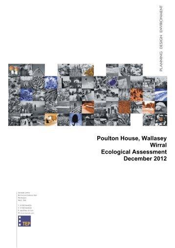 Poulton Ecological Assessment23862140000.pdf 07/01/2013 11:08 ...