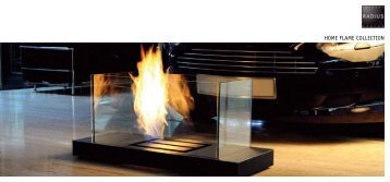 Elegant Radius Design Ethanol Kamin Katalog   Wohn Waerme