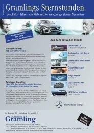 Gramlings Sternstunden. - Autohaus Heinrich Gramling GmbH &  Co ...