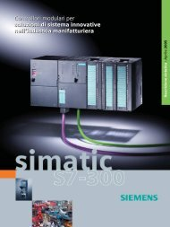 Scarica la brochure... - Siemens