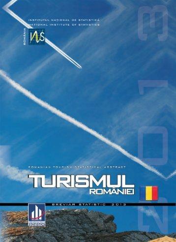 Turismul Romaniei 2013 - Institutul National de Statistica