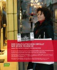 Stadtleben Magazin: 3. Ausgabe 2010 - Graz Tourismus