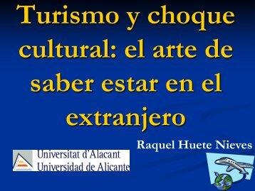 Turismo y estrés intercultural