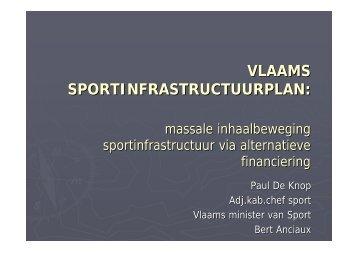 presentatie Paul De Knop (PDF) - Vlaanderen.be