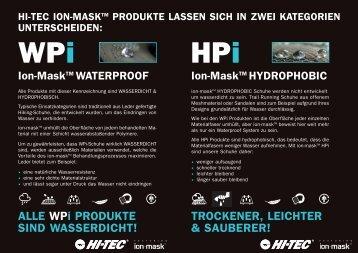 ALLE WPi PRODUKTE SIND WASSERDICHT! - Magnum-Versand.de