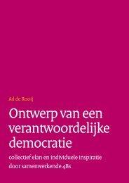 Ontwerp van een verantwoordelijke democratie - Forum Standaardisatie