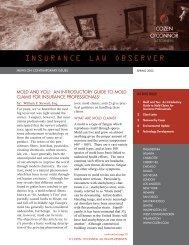 inslaw spring 02 v.2.qxd - Cozen O'Connor