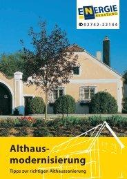 Tipps zur richtigen Althaussanierung (2,50 MB) - .PDF