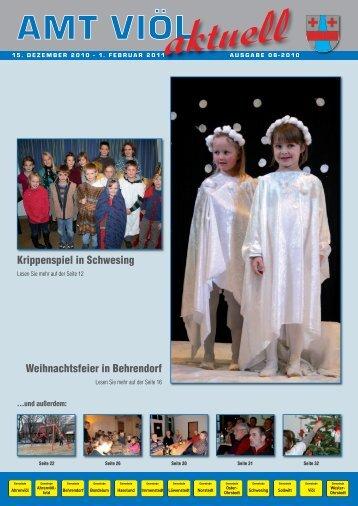 Weihnachtsfeier in Behrendorf Krippenspiel in ... - Grafik Nissen