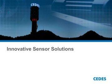 Innovative Sensor Solutions - Cedes.com