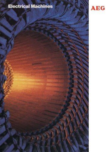 Electrical Machines - AEG Industrial Engineering