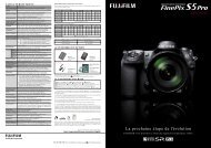 Documentation FinePix S5 Pro.pdf - Fujifilm France