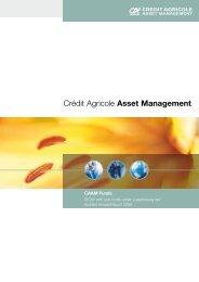 Crédit Agricole Asset Management - Fundsupermart.com