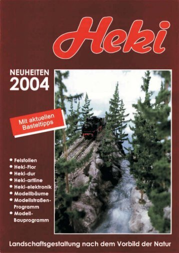Novedades Heki 2004 - Railwaymania.com