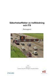Säkerhetseffekter av trafikledning på motorväg - Movea Trafikkonsult ...