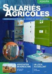 Le bulletin des salariés agricoles de l'Aveyron novembre 2010