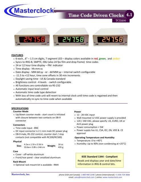 Timer Controller RC500 3