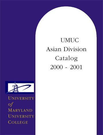 Asian division maryland university