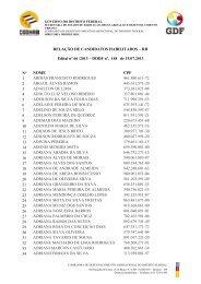 Edital 66/2013 - 19/07/2013 - Morar Bem - Governo do Distrito Federal