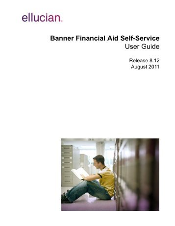 Banner Financial Aid Self-Service / User Guide / 8.12
