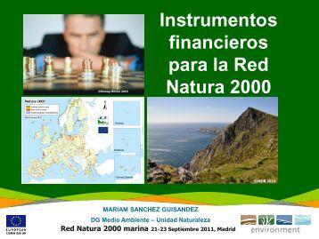 Instrumentos financieros para la Red Natura 2000 - WWF