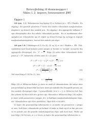 Rettevejledning til eksamensopgave i Makro 1, 2. årsprøve ...