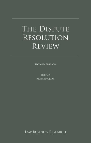 The Dispute Resolution Review - Appleby