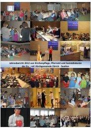 Jahresbericht 2012 von Kirchenpflege, Pfarramt und Sozialdiakonie ...