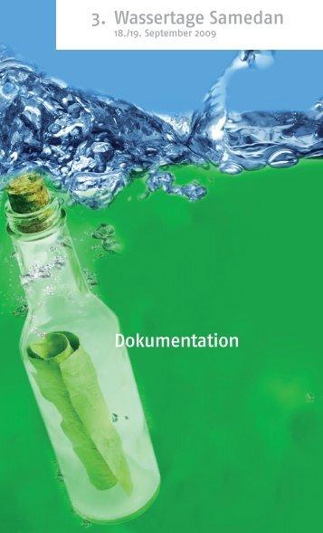 3. Wassertage Samedan Dokumentation
