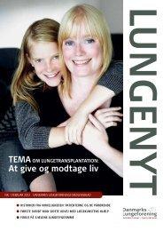 Download Lungenyt 1, 2012 - Danmarks Lungeforening