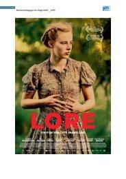 LORE - Piffl Medien | Filmverleih