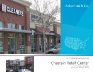 Chastain Retail Center - Ackerman & Co.