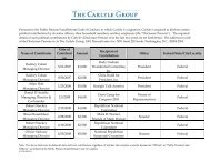 [intro language] - The Carlyle Group