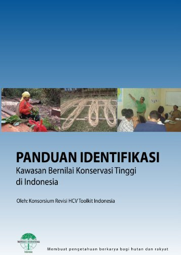 panduan identifikasi - Tropenbos International