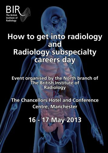 How to get into radiology and Radiology subspecialty careers day