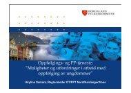 OT/PPT Akylina Samara - Helse Bergen