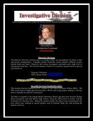 Investigations - Orange Beach Police Department