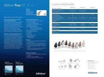 Beltone True 17 ∙ 9 · 6 - Beltone.es