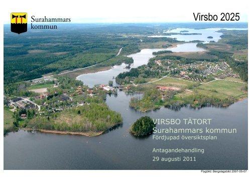 ANTAGANDE, Planbeskrivning, FÖP Virsbo augusti 2011 2.pdf