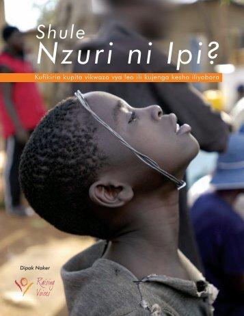 Shule Nzuri ni Ipi? - Raising Voices
