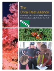 Coral Reefs & Sustainable Marine Recreation - NOAA's Coral Reef ...