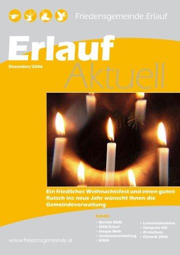Gemeindezeitung 03/2006 (0 bytes) - Friedensgemeinde Erlauf