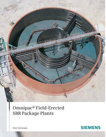 OMNIPAC® Field-Erected SBR Package Plants - Siemens Water ...
