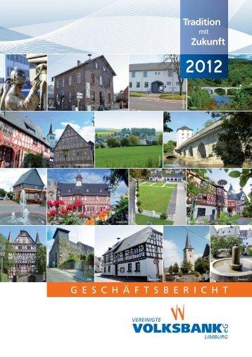 Jahr 2012 - Vereinigte Volksbank eG Limburg