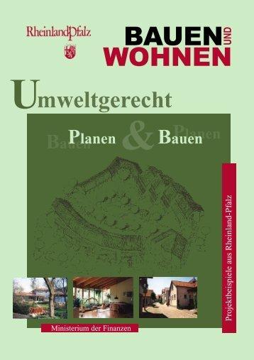 Umweltgerecht Planen und Bauen - Finanzministerium Rheinland ...