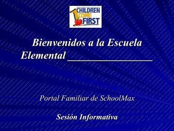 Bienvenidos a la Escuela Elemental