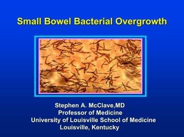 small intestinal bacterial overgrowth antibiotics